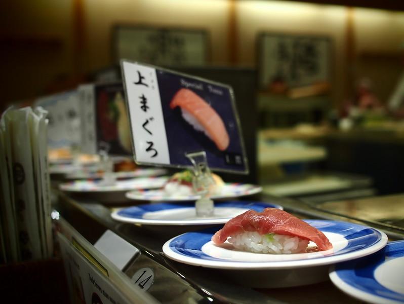 What to do in Japan: eat kaiten-zushi!