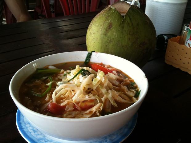 Seafood soup Mui Ne Vietnam