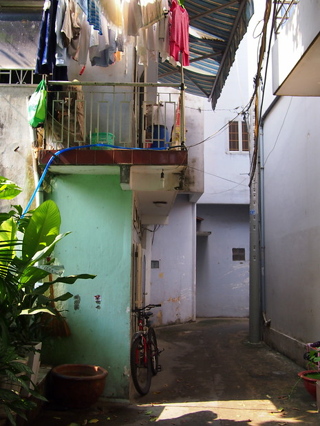 First impressions of vietnam: My alleyway in Saigon