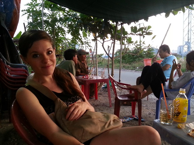 Jodi Ettenberg in Saigon after 5 years of long term travel