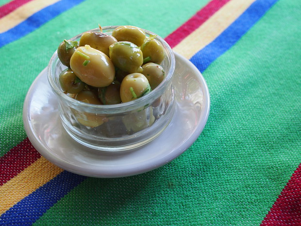 Olives in Morocco