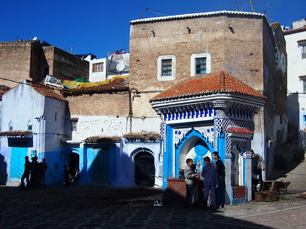 A typical afternoon during Eid in Chefchaouen
