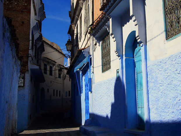 Chefchaouen, Morocco in Colour