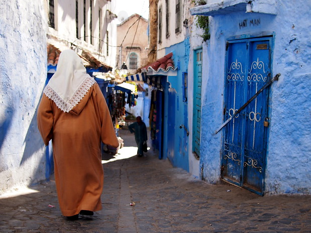 Wandering the medina in Chefchaouen