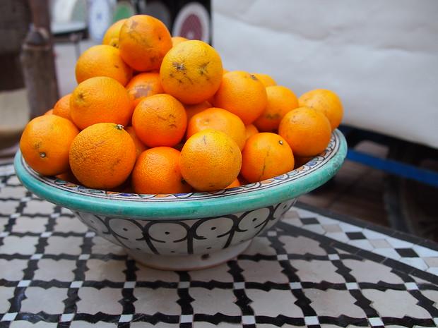 Oranges Morocco