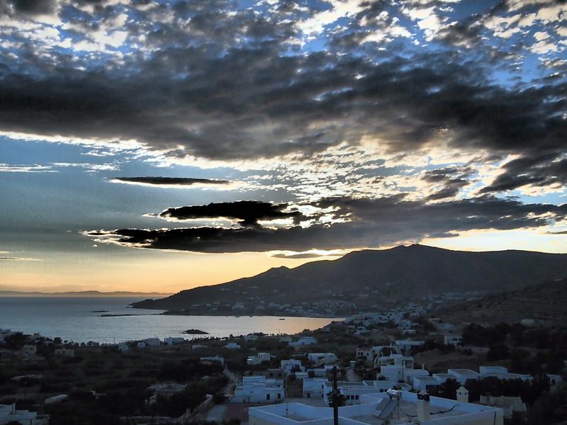 Syros sunset
