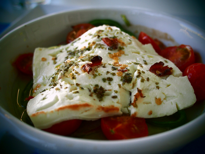 spicy baked feta recipe from greece