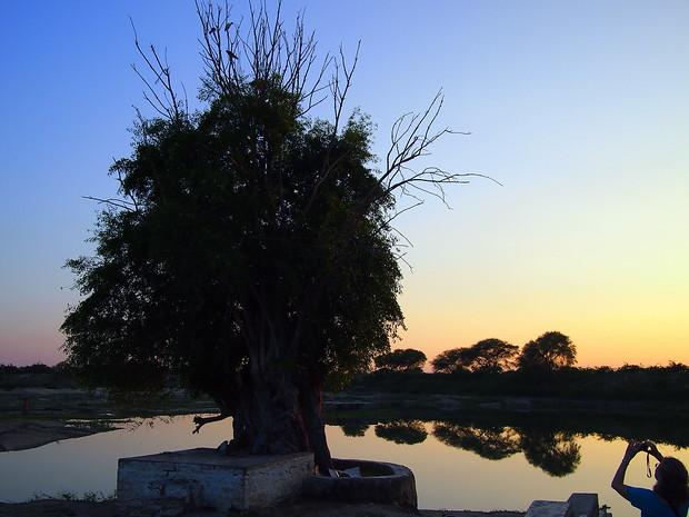 Sunset in Chandelao