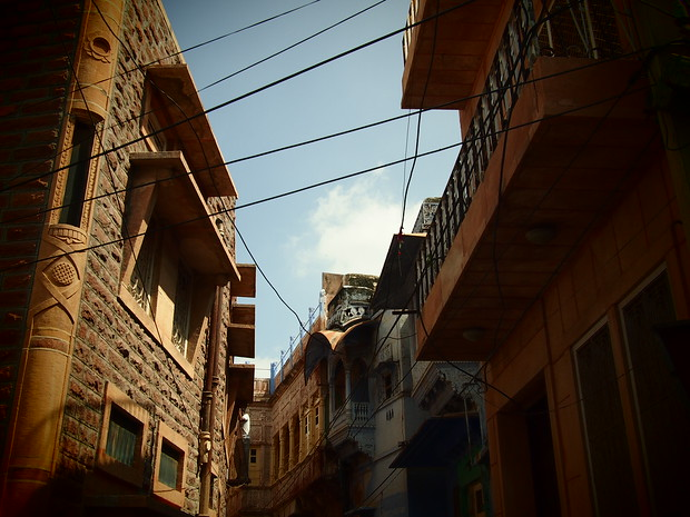 old buildings in bikaner