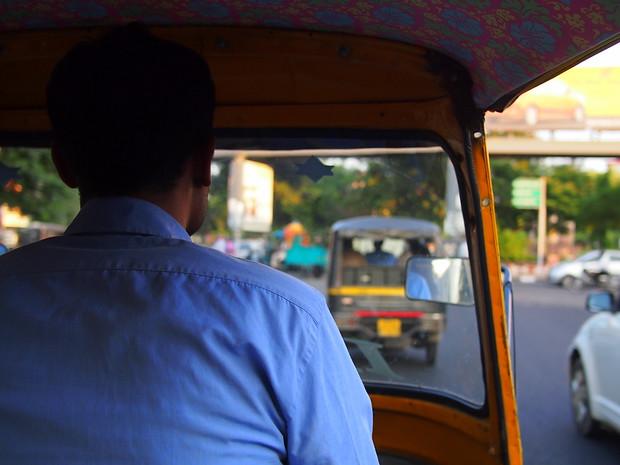 Autorickshaw ride Delhi