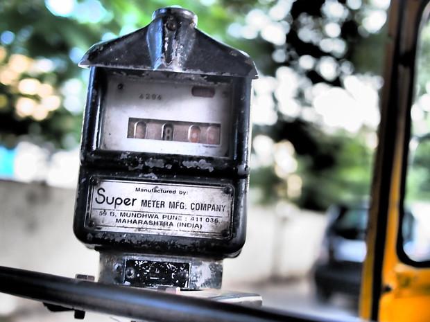 auto rickshaw Meter