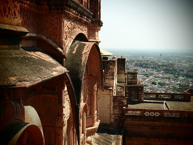 Mehrangarh Fort in Jodphur