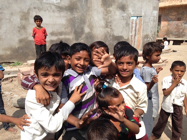 kids in northern india
