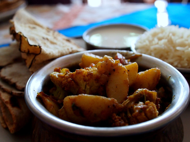 overview of northern india: aloo gobi SO GOOD