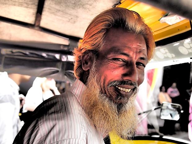 Udaipur auto-rickshaw driver