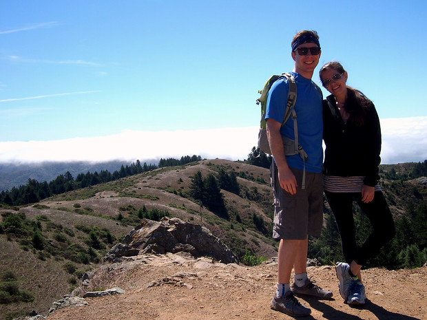 Hiking through Mt Tamalpais