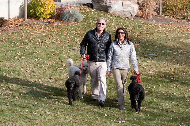 Scott and his wife Laura, co-founders of Scottevest, Inc.