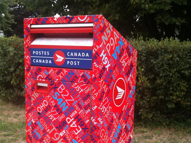 Canada Post anti-graffiti mailboxes