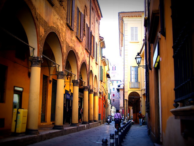Bologna is also famous for its sprawling porticoes, which circle much of the historical centre.