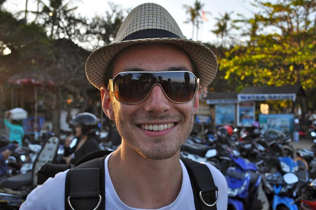 Scott McLeod in Bali