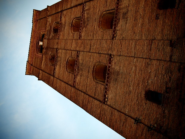 One of Bologna's remaining towers