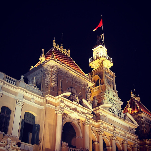 Vietnam in Photos hotel de ville