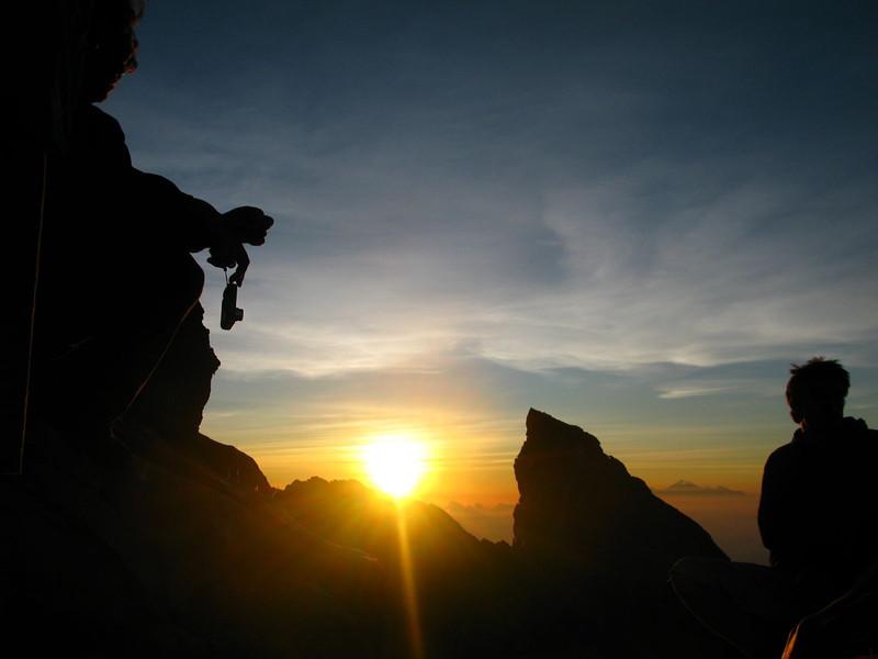 Sunrise over Gunung Agung in Bali
