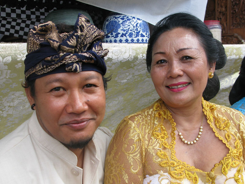 Balinese wedding outfit