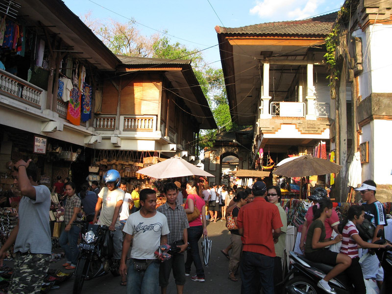 Main market in Ubud