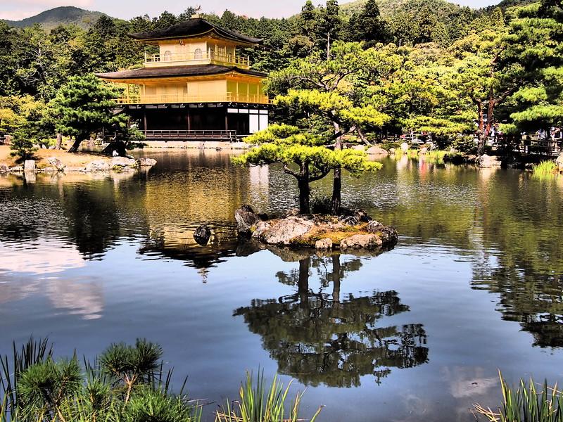 What to do in Japan: visit Kinkakuji, in Kyoto