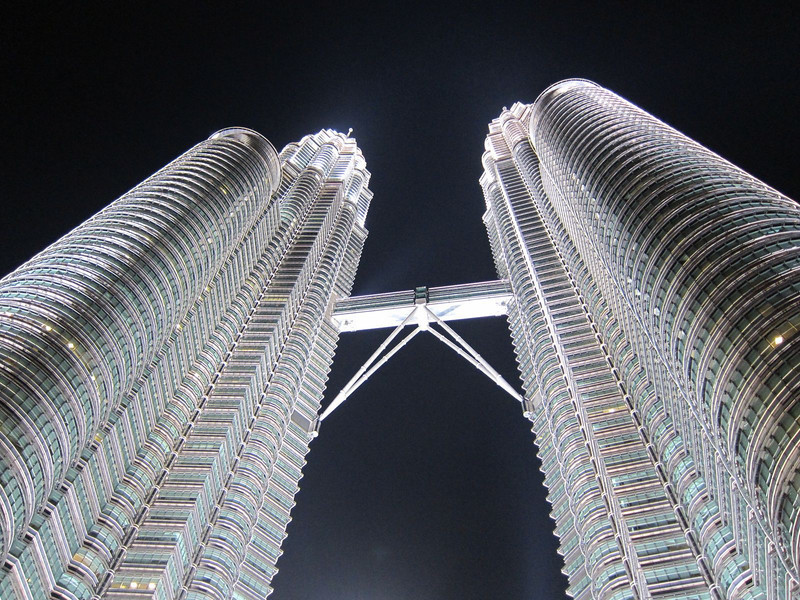 Petronas Towers, my last stop before my travel to the Perhentian Islands