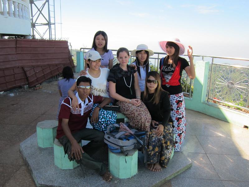 visiting the golden rock in myanmar