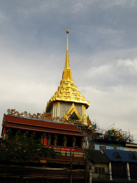 wat in chinatown, bangkok