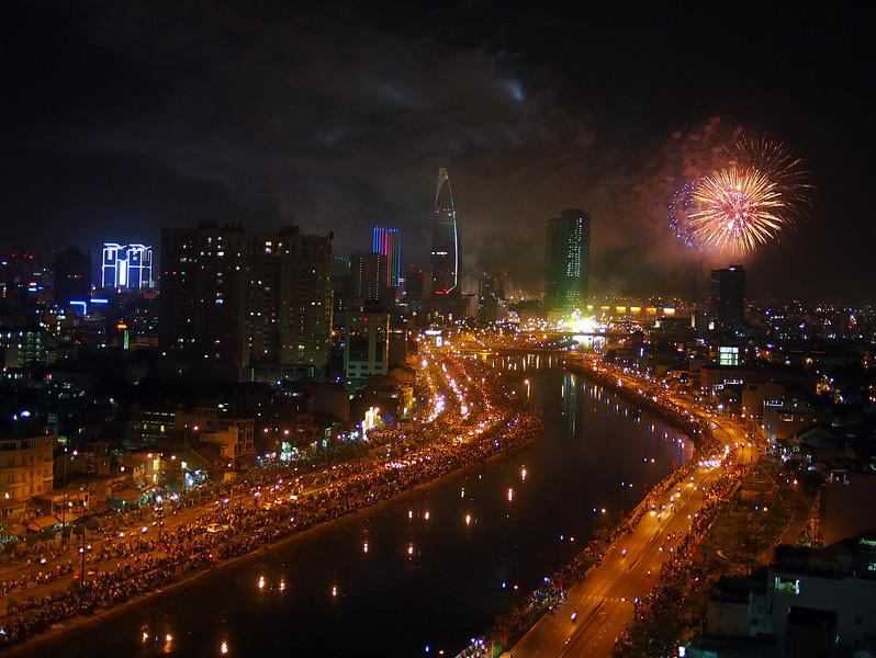 Lunar new year in Saigon