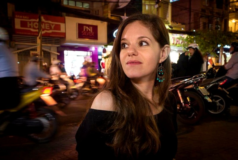 Jodi Ettenberg in Saigon