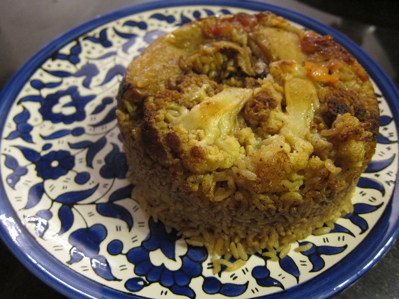 Maklouba (also called makloubeh) recipe