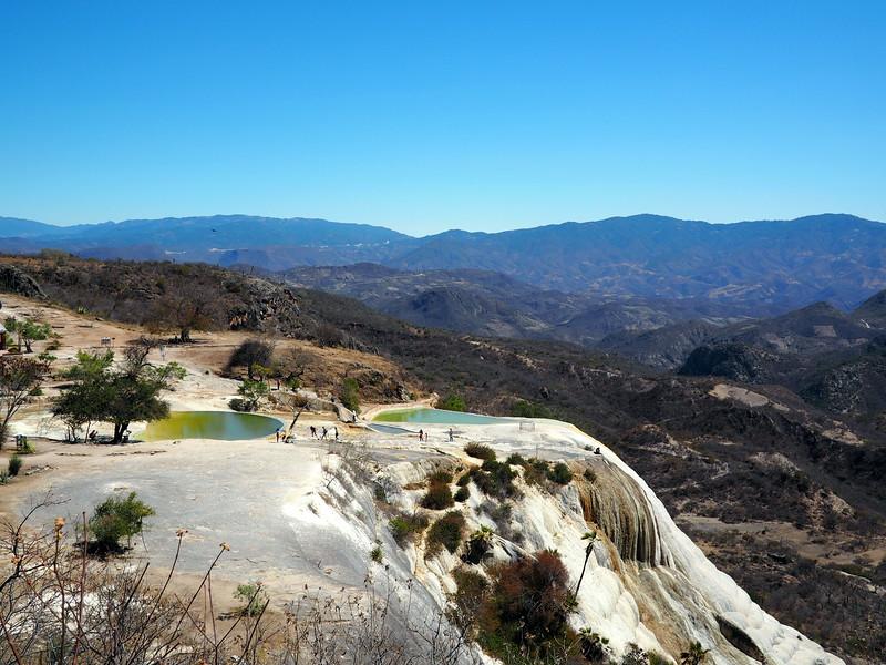 Mineral pools at Hierve el Agua near Oaxaca