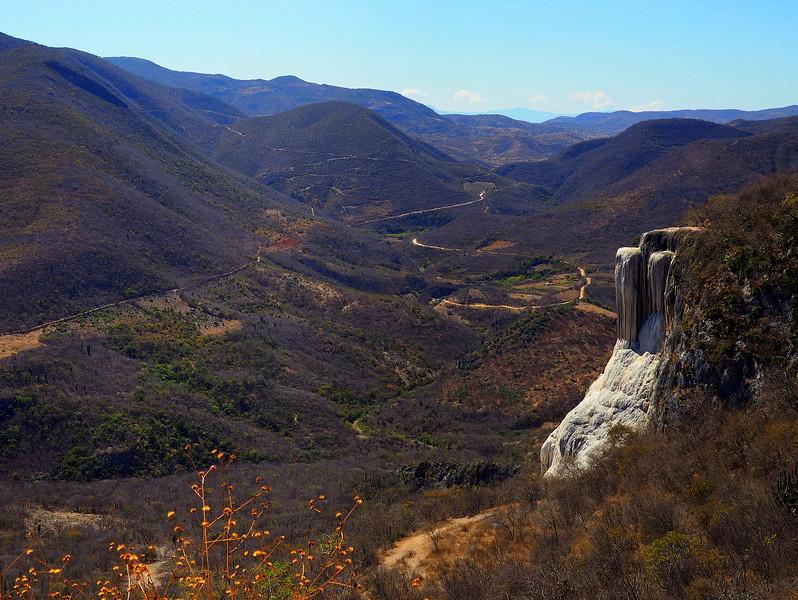 """Cascada grande"" at Hierve el Agua near Oaxaca"