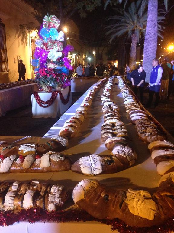 Rosca de Reyes in Oaxaca