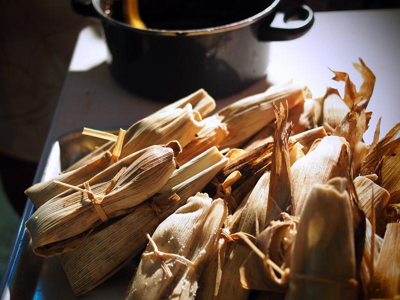 tamales for el dia de la candelaria in oaxaca