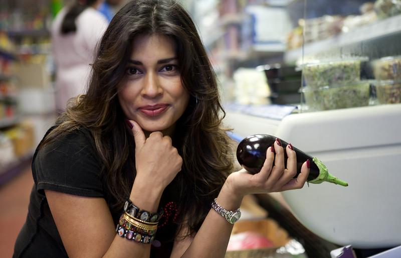 Nisha Katona, author of Pimp My Rice