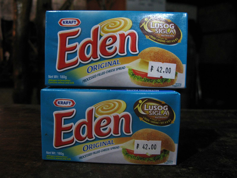 Eden cheese: it just won't melt.